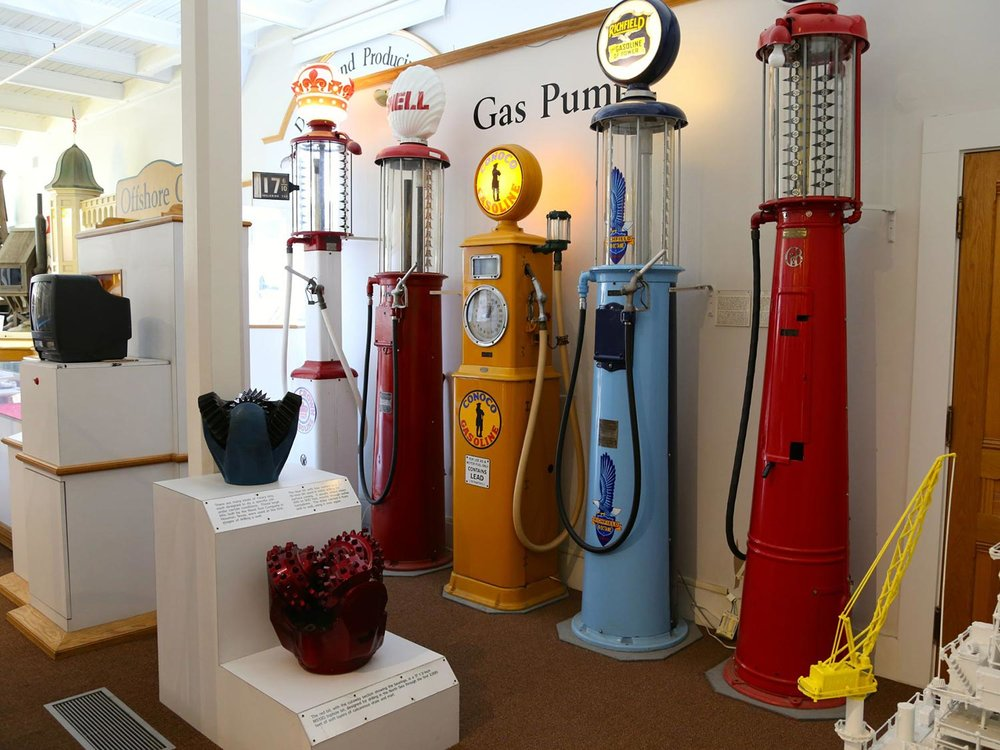 Petroliana at the California Oil Museum
