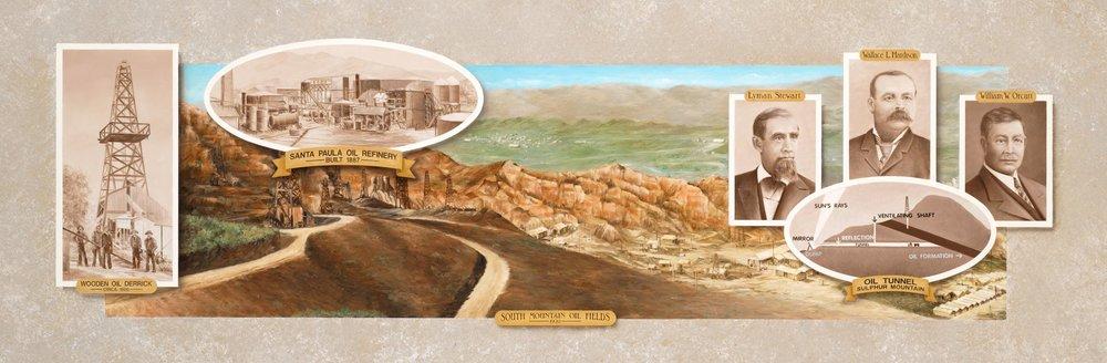 Discovering Black Gold Mural Santa Paula California