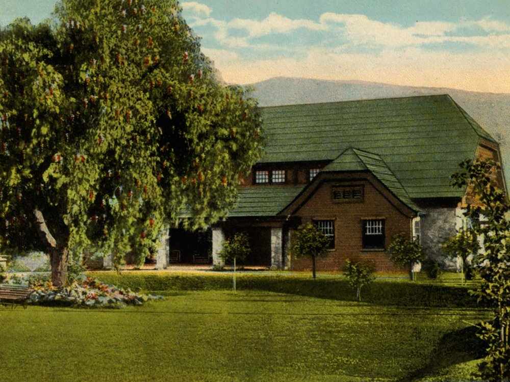 The Santa Paula Theater Center is located inside the Craftsman style Ebell Club built in 1927