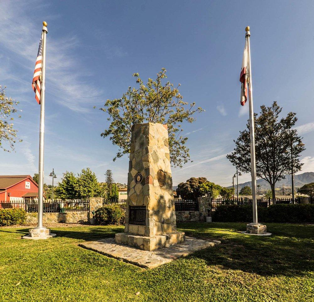 Santa Paula Police Memorial Santa Paula, California