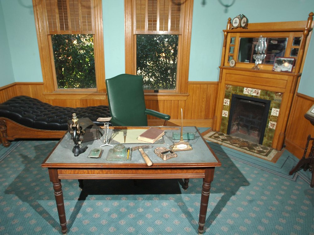 Restored 1890 Union Oil Company Office at the California Oil Museum