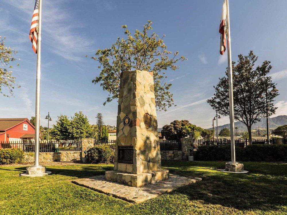 Police Memorial Santa Paula California