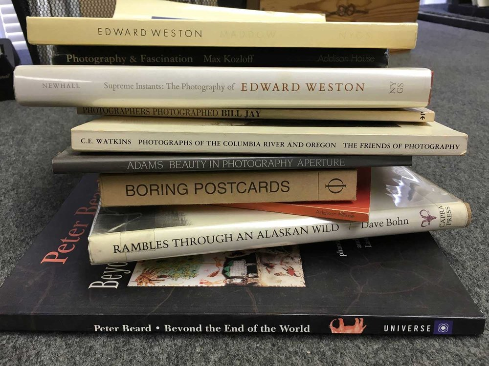 Browse a variety of limited edition and vintage books at John Nichols Gallery (subject to availability)