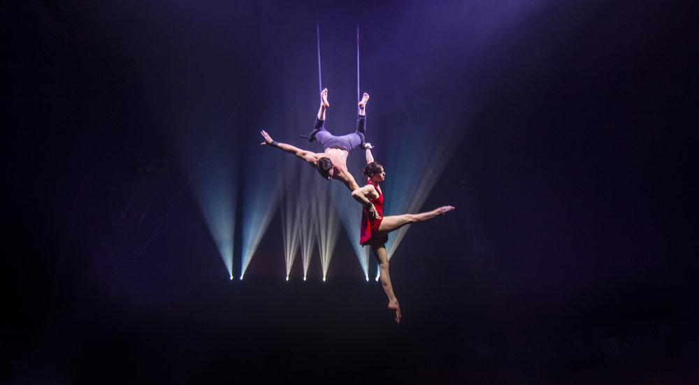 Duo trapeze