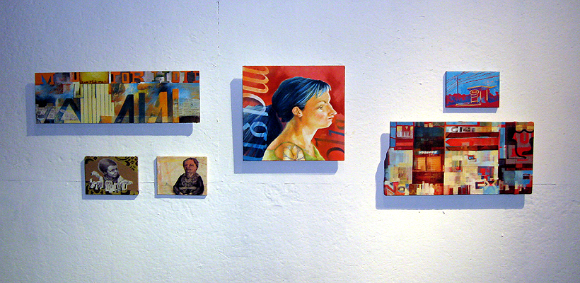 Normal, OK Installation View at Untitled Artspace, OKC, 2008