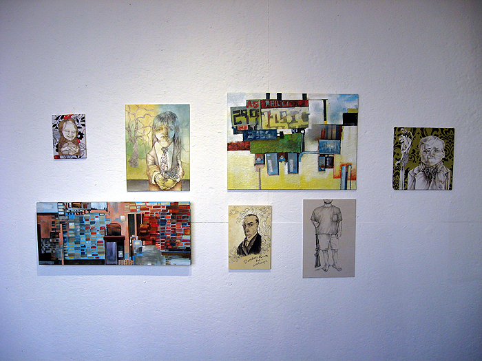 Normal, OK: Installation View at Untitled Artspace in OKC, 2008