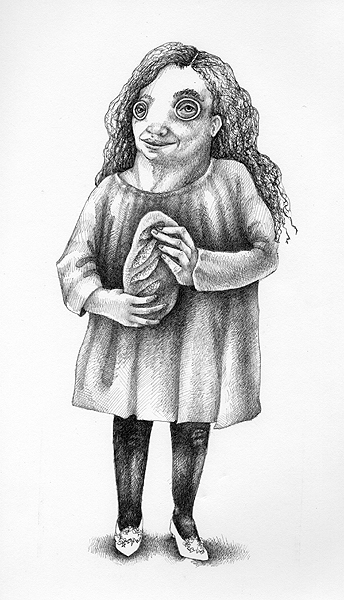 Mundy Tulsa, ink on paper, 2007