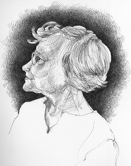 Normal, OK: Sketch for Dixie Wynn