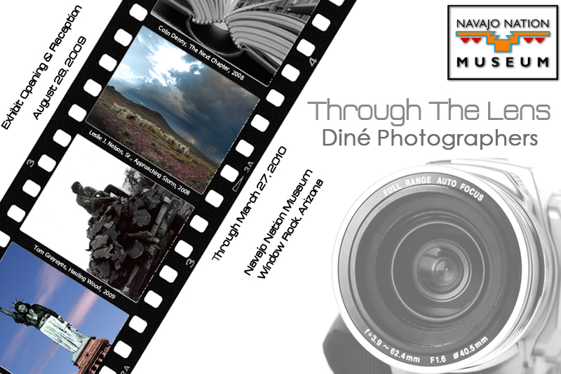 Through The Lens postcard