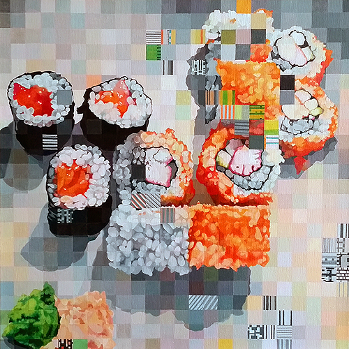 Sushi Leftovers by Sarah Atlee