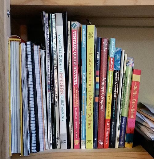 bookshelf quilting