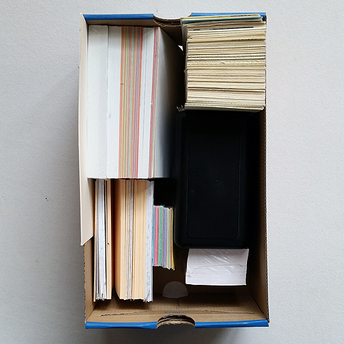 index card box 500