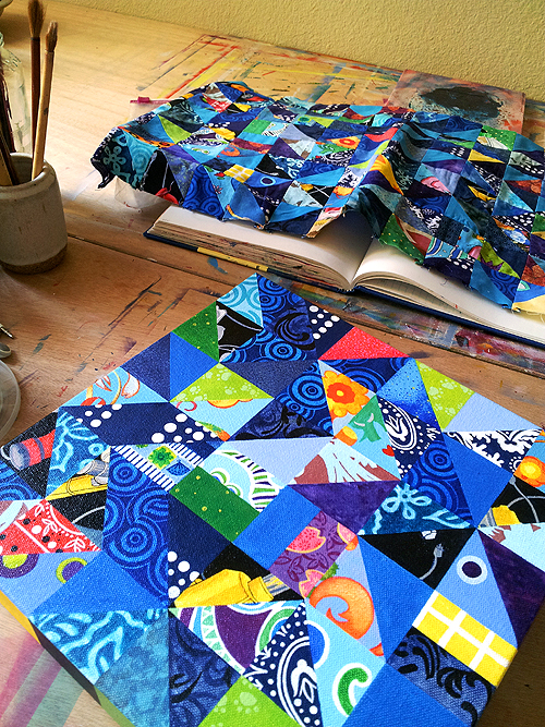 painting and quilt 1 72 500