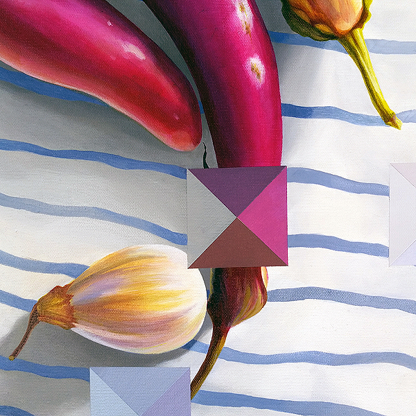 Eggplants: Averaged (detail view) | $2595