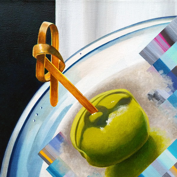 Martini: Head Clog II (detail view) | $1380