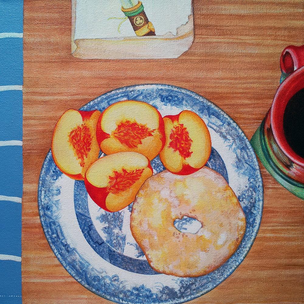 Breakfast: Peaches, Coffee, Shogun | $430