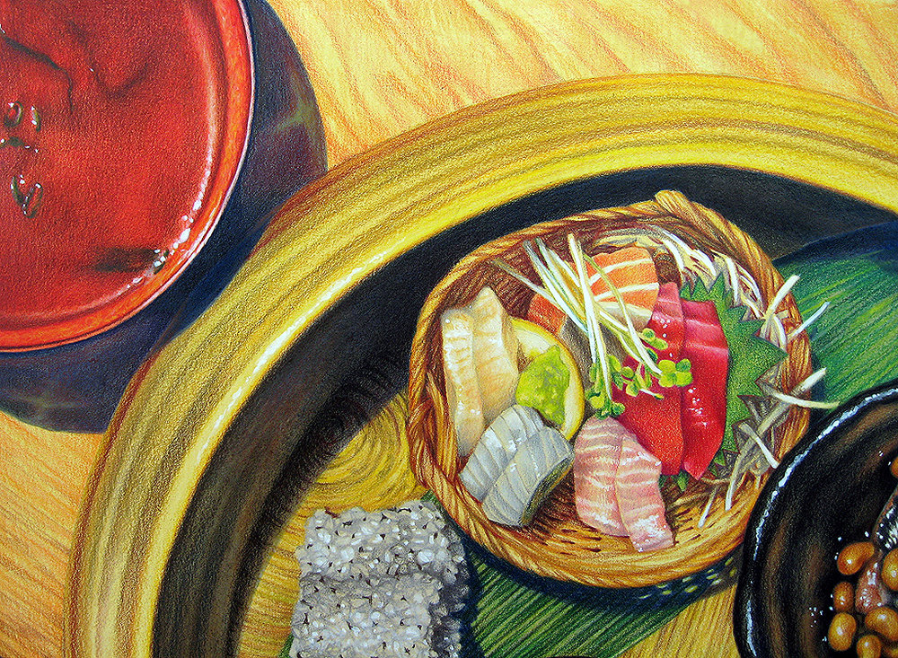 Lunch at Sakagura (detail view) | $1550