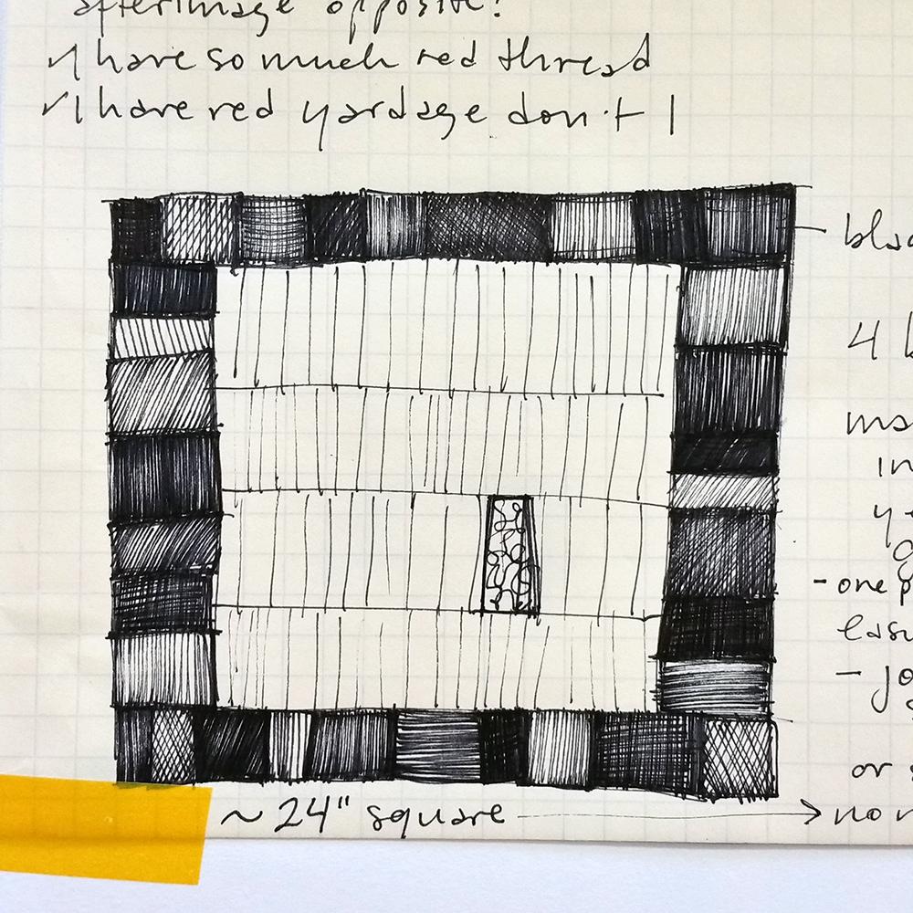 Sketch for Drawers V