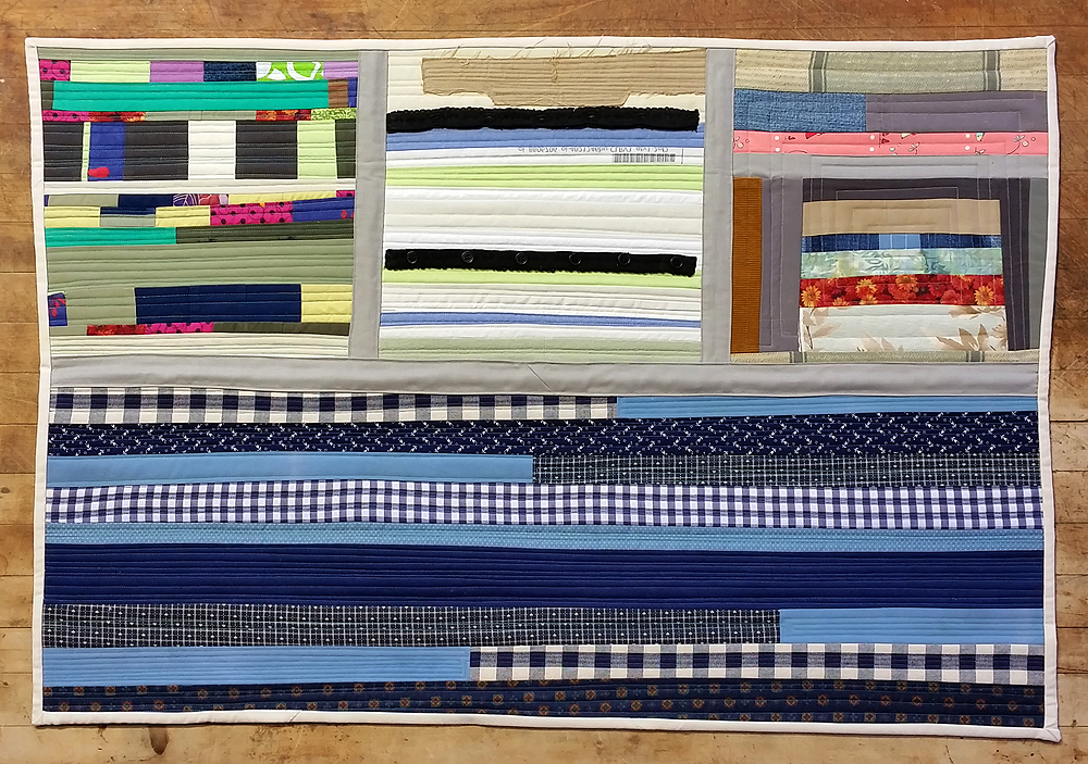 Quilt Diary January 2017: Falling Together At The Seams | $590