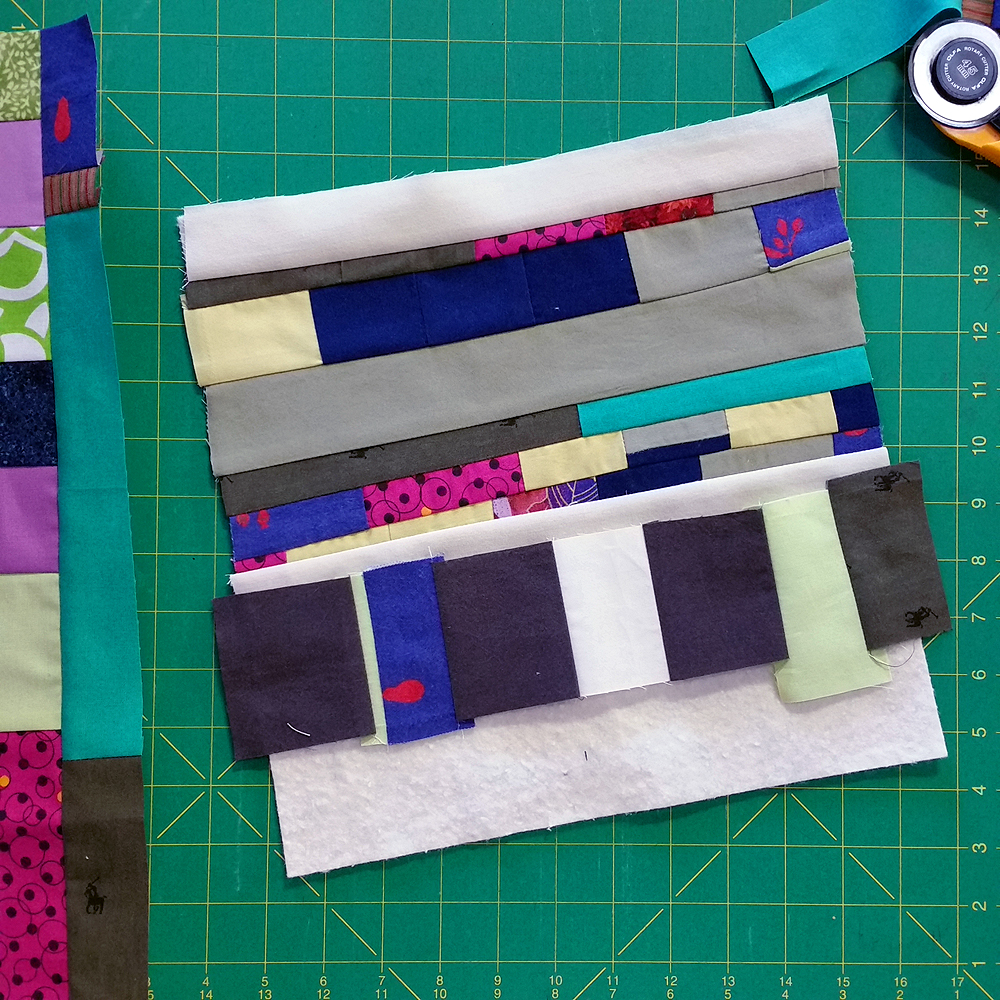 Quilt Diary January 2017: Falling Together At The Seams (in progress) | $590