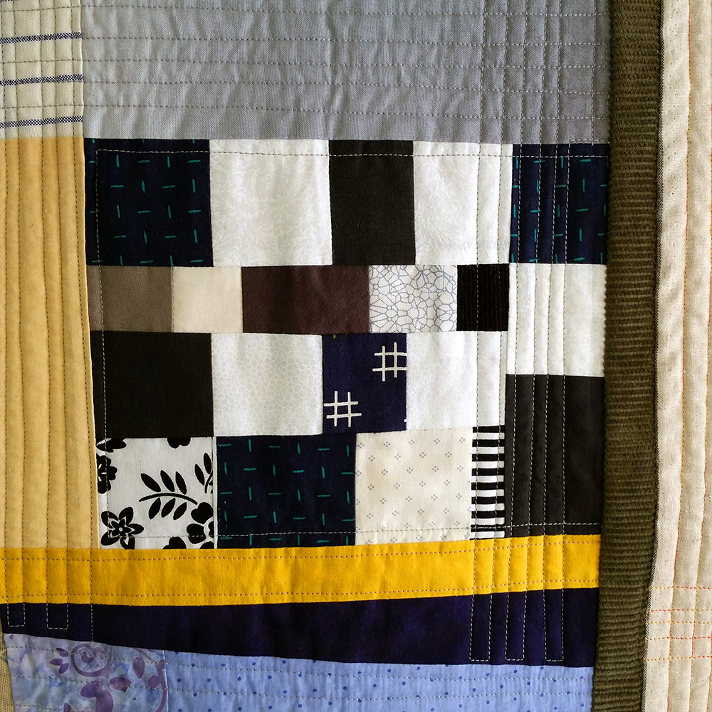 Workin the Cattle (quilting detail) | $675