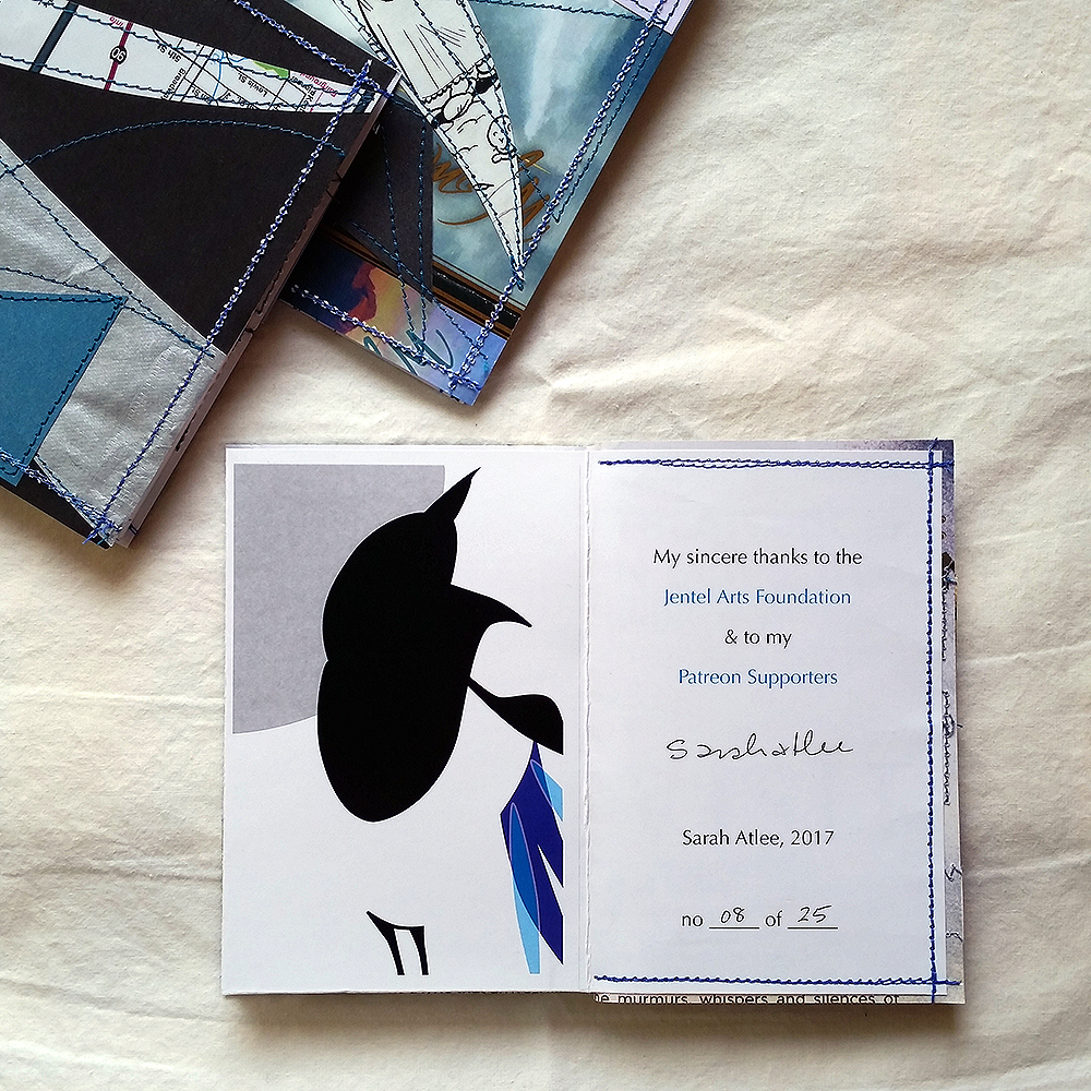 Things I Learned About Magpies (handmade books) | edition of 25