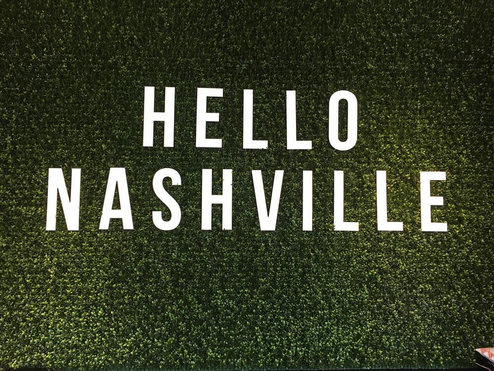 Nashville Sign