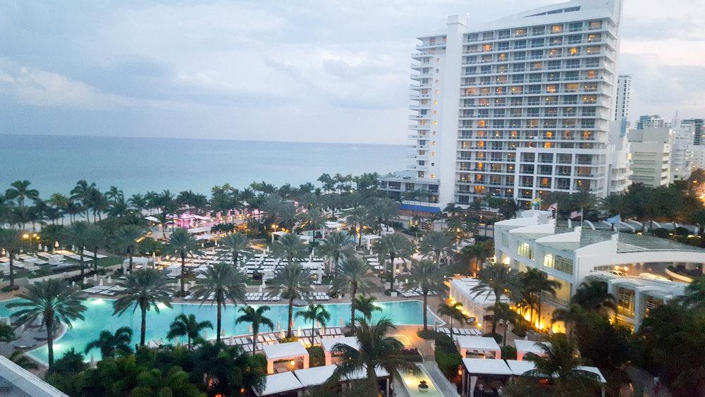 room views |Fontainebleau Miami Beach