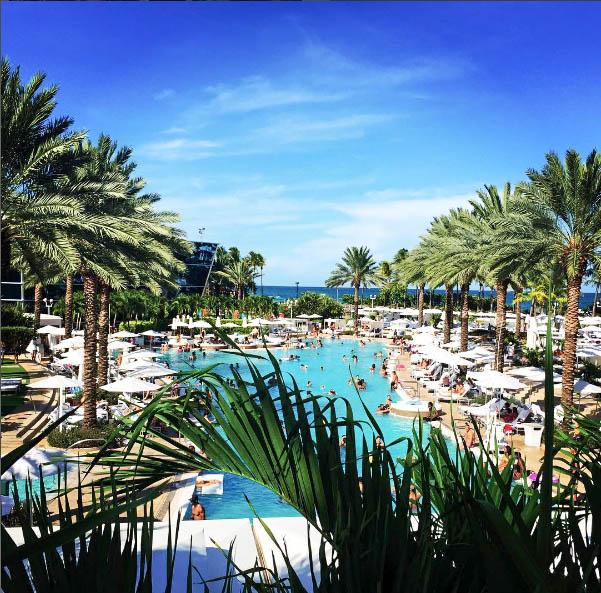 my favorite pool in miami beach |Fontainebleau Miami Beach
