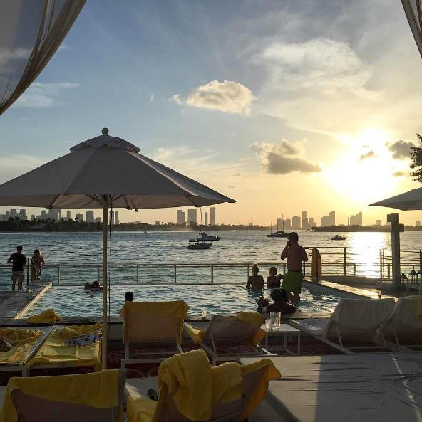 Those pool views!! |mondrian south beach