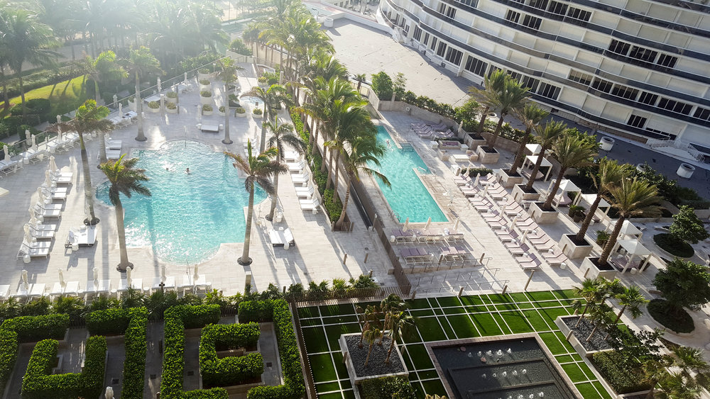 balcony views from your hotel room | st. regis bal harbour