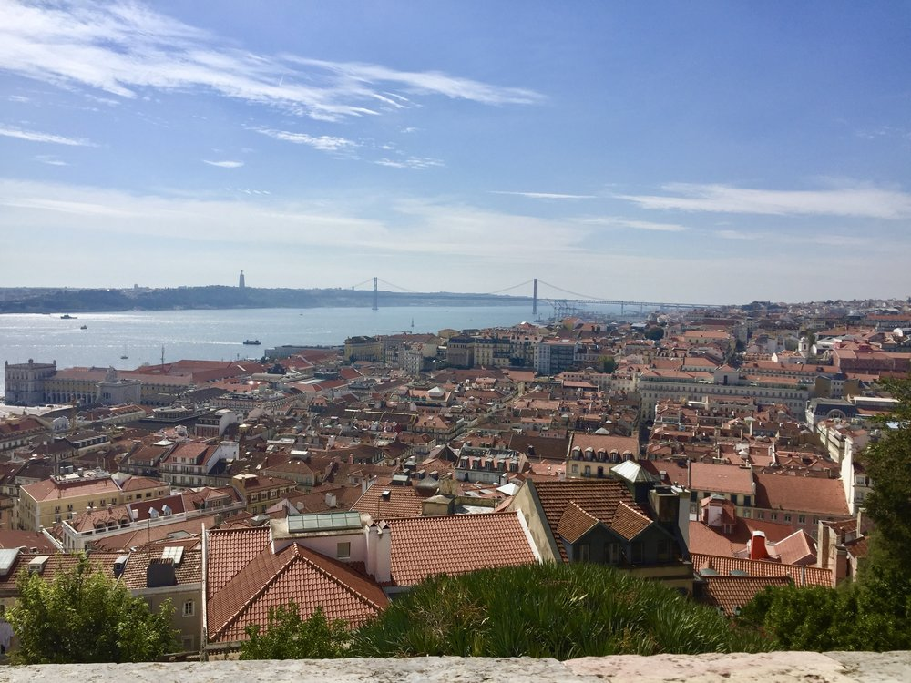 Stunning View from Castle of St. Jorge