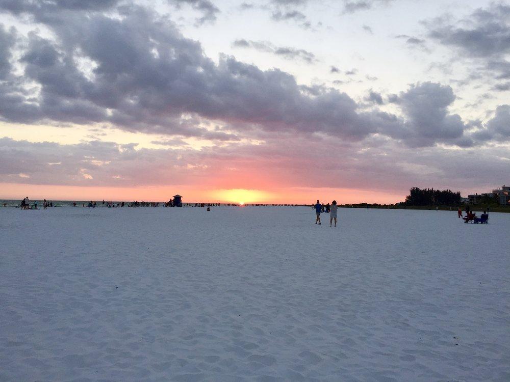 Check out the soft white sand | Siesta Key Beach