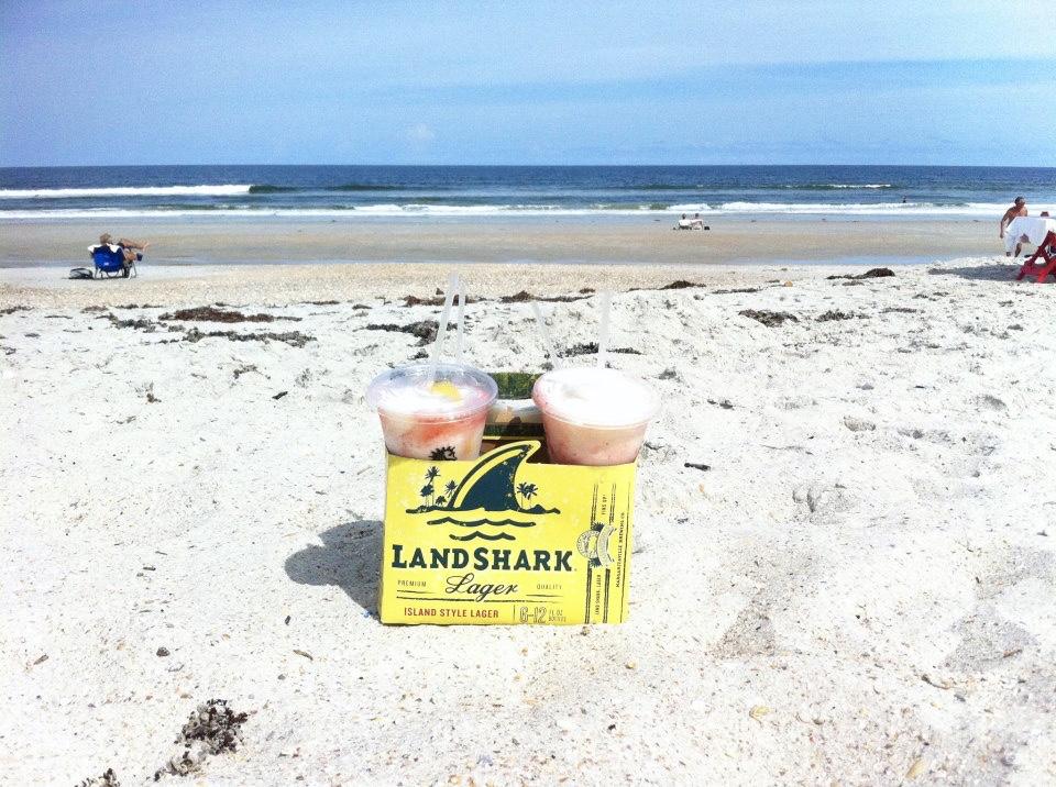 Love the packed sand here for running, biking & BYOB drinking | Atlantic Beach