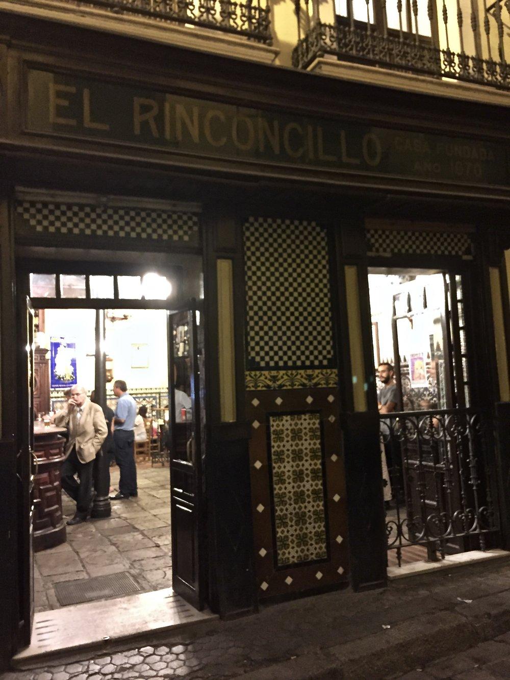 oldest bar in spain |El Rinconcillo