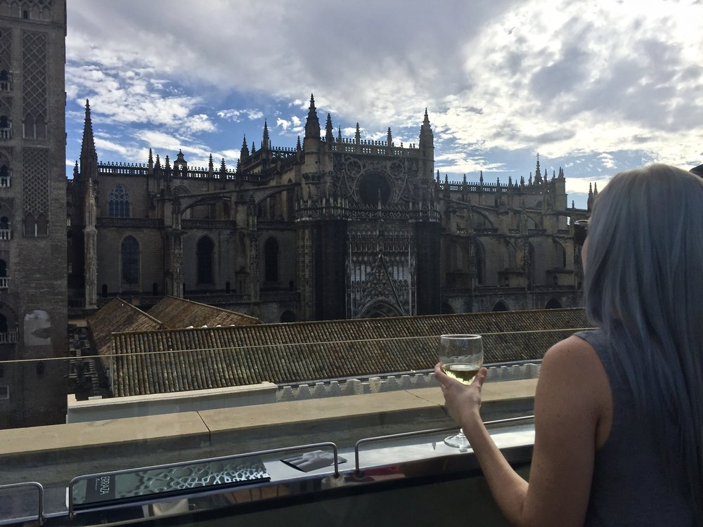 Amazing views at EME Catedral Hotel
