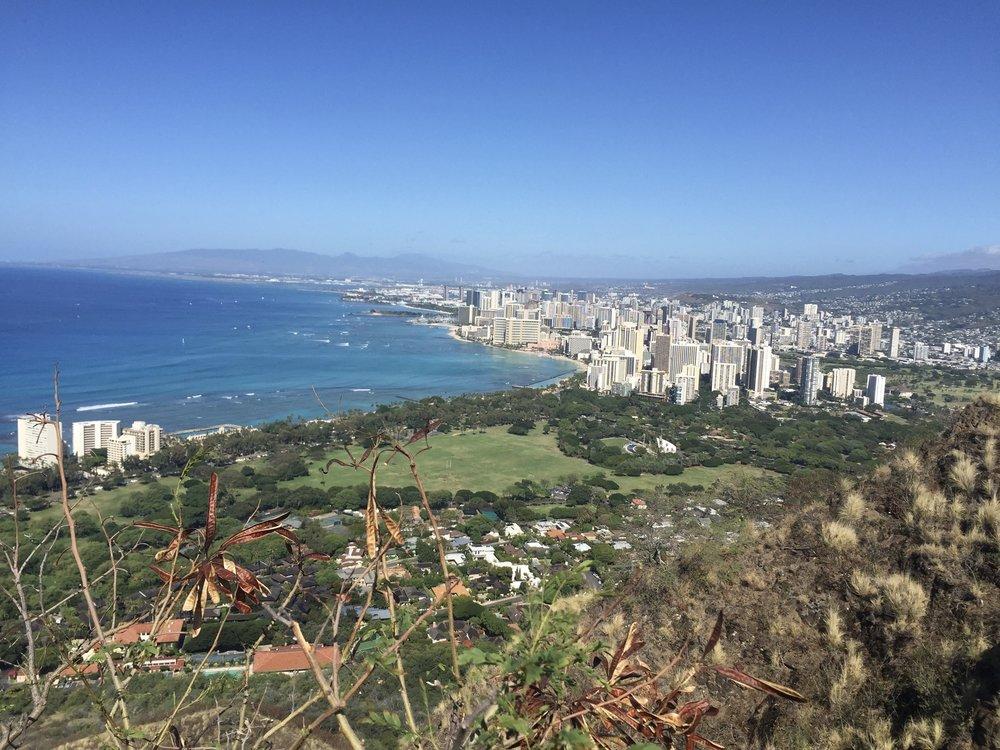 Diamond Head Hike Oahu