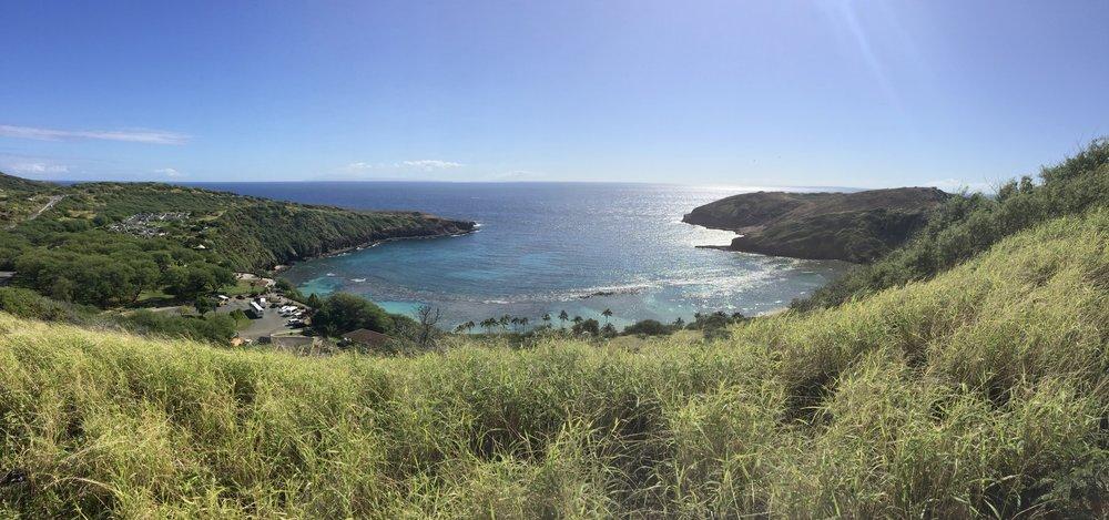 Hanauma Bay Rim Trail Oahu