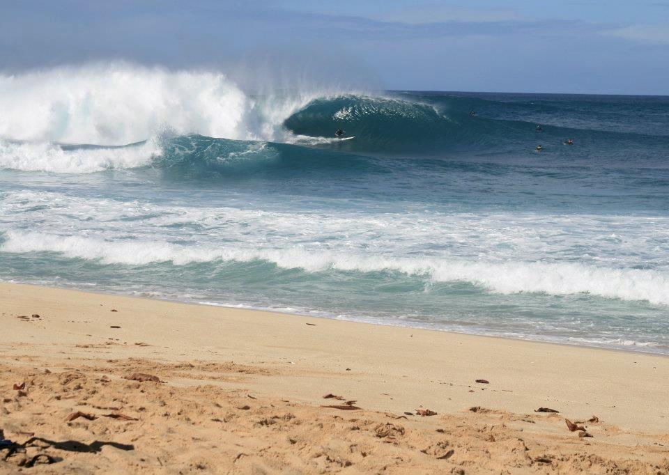 Banzai Pipeline Beach Oahu