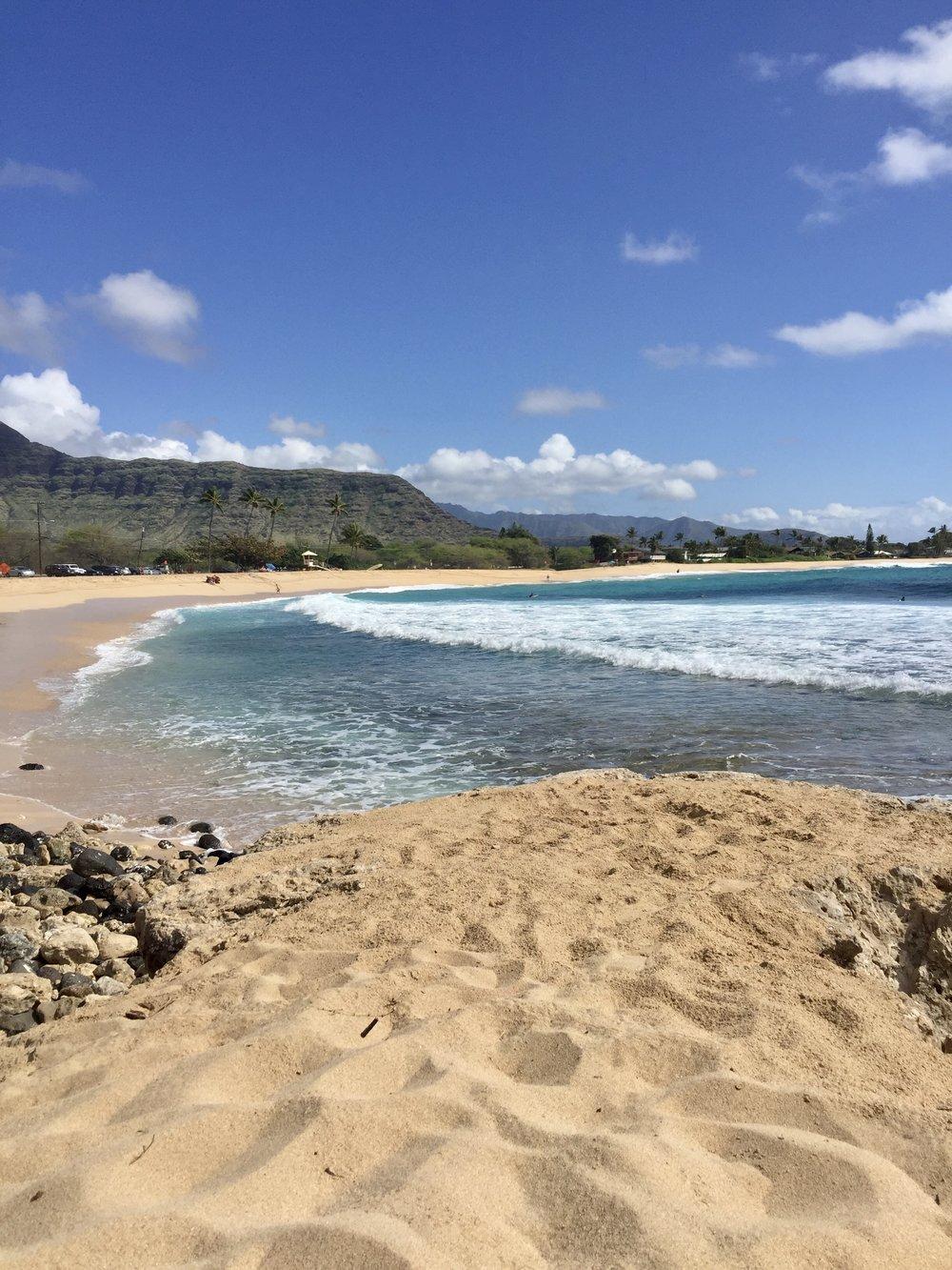 Makaha Beach Oahu