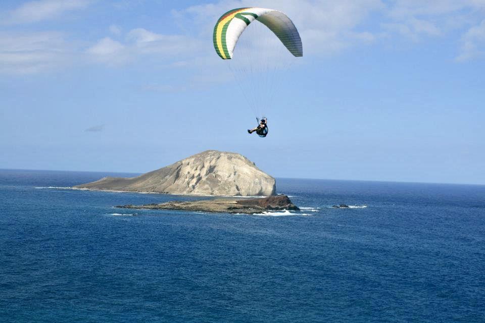 Paragliding Oahu