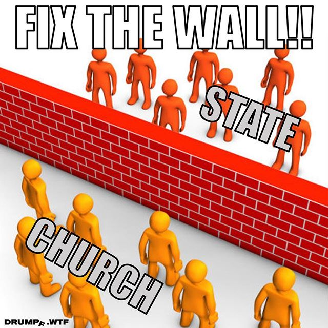 This is the only wall we care about. Build it tall and build it strong. #buildthewall #buildabear #separationofchurchandstate #separationanxiety #religion #government #clipart #resist #notmypresident #drumpf #drumpfdotwtf #impeachtrump #bible #maga #jesus #godislove #mikepence #donaldtrump #wall #feminist #brick