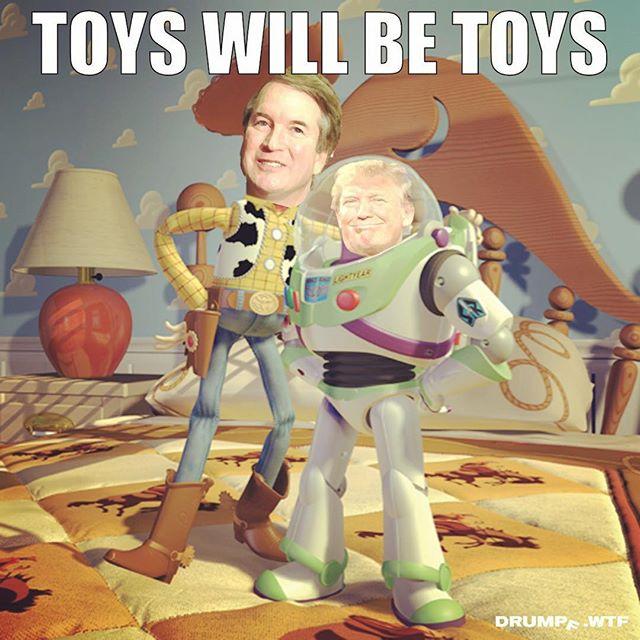 Kavanaugh is a liar and a puppet of the Republican party. #believesurvivors #stopkavanaugh #toys #truth #resist #dumptrump #liar #schoolboy #boysclub #boyswillbeboys #usa #maga #donaldtrump #trump #drumpf #drumpfdotwtf #kavanaugh #toybox #toolbox #games #tbt #supremecourt #merrickgarland #gop #vote