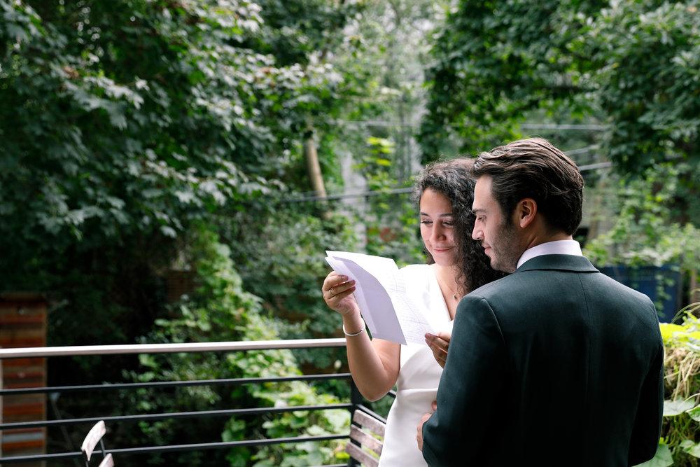 Adam + Ariella,  Brooklyn wedding