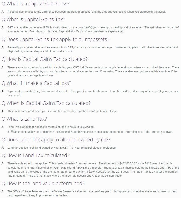Investors Q&A