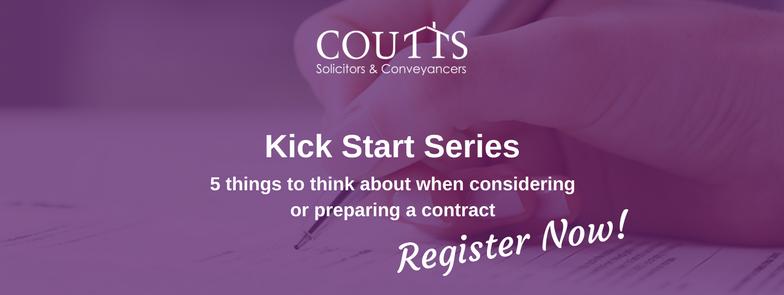 Preparing Contracts