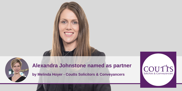 Alexandra Johnstone named as partner