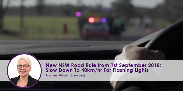 Photo source: https://www.facebook.com/nswpoliceforce/videos/slow-down-to-40/546373149125918/
