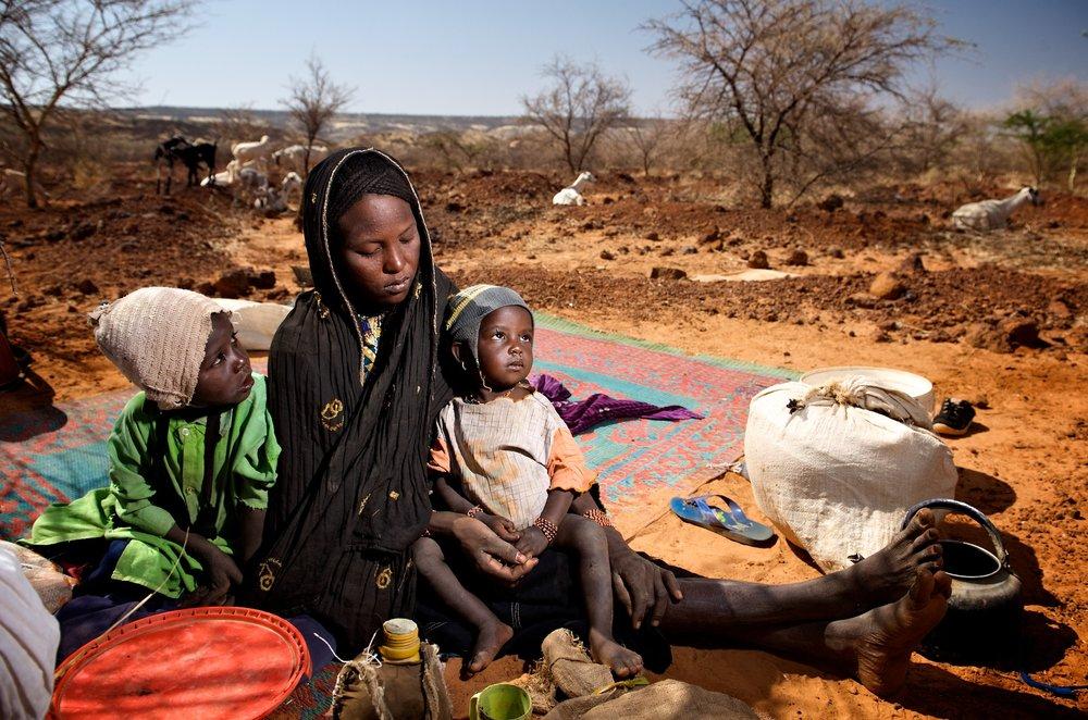 NOMADIC GRAZING FAMILY, NIGER