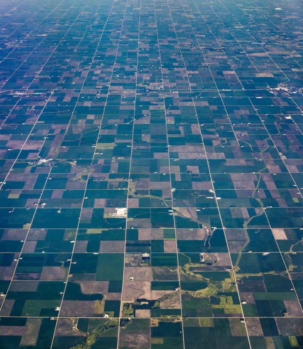 "Hancock County Iowa  (   Latitude 42°56'21"" N Longitude 93°52'24"" W   )  by Dennis Dimick, July 6, 2017."